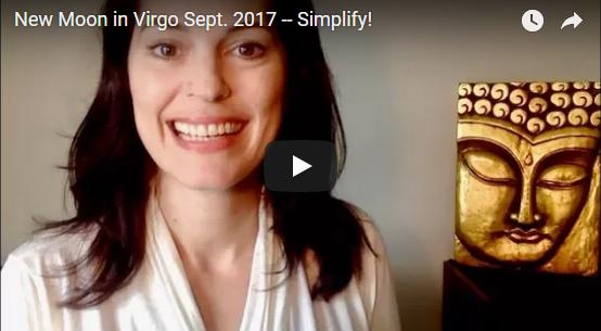 New Moon in Virgo Sept. 2017 — Simplify!